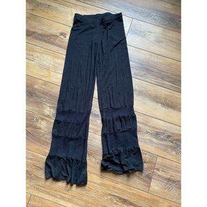MICHAEL LAUREN Black Flare Pants XS